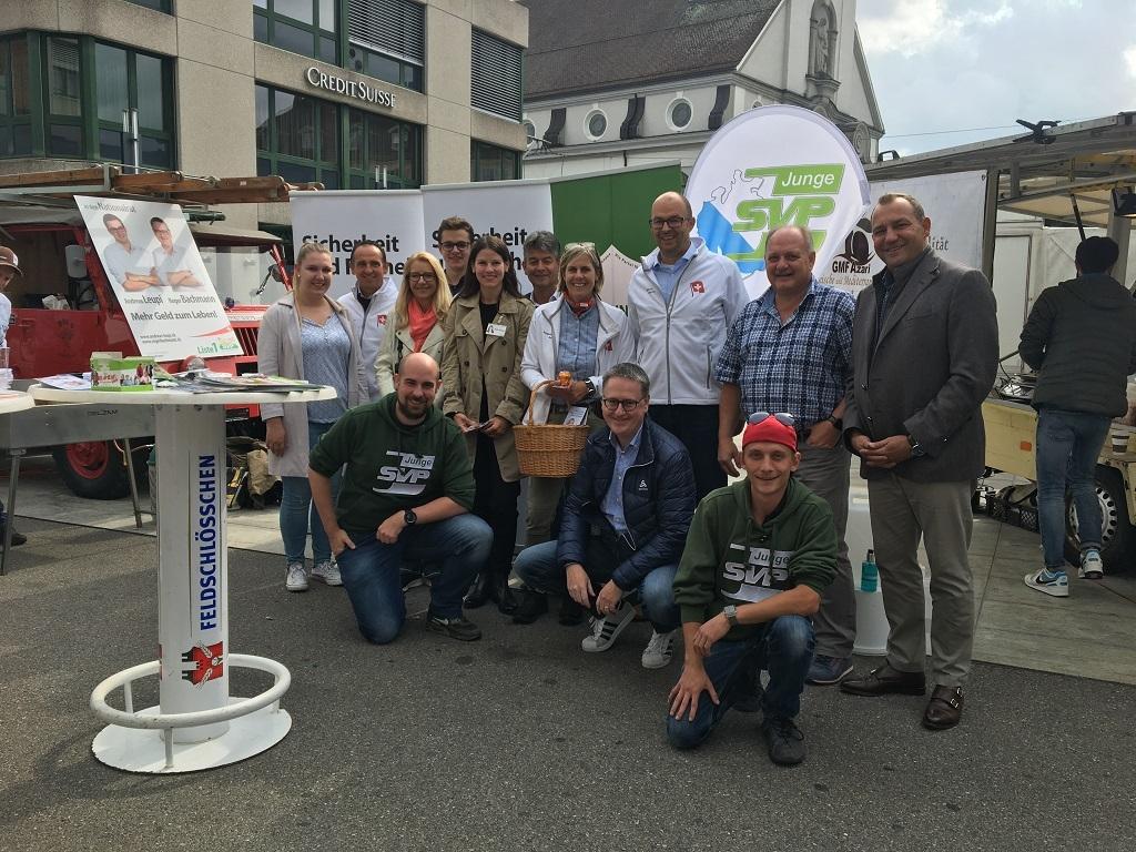 Genialer Wahlkampf-Start mit Wurst und Bier