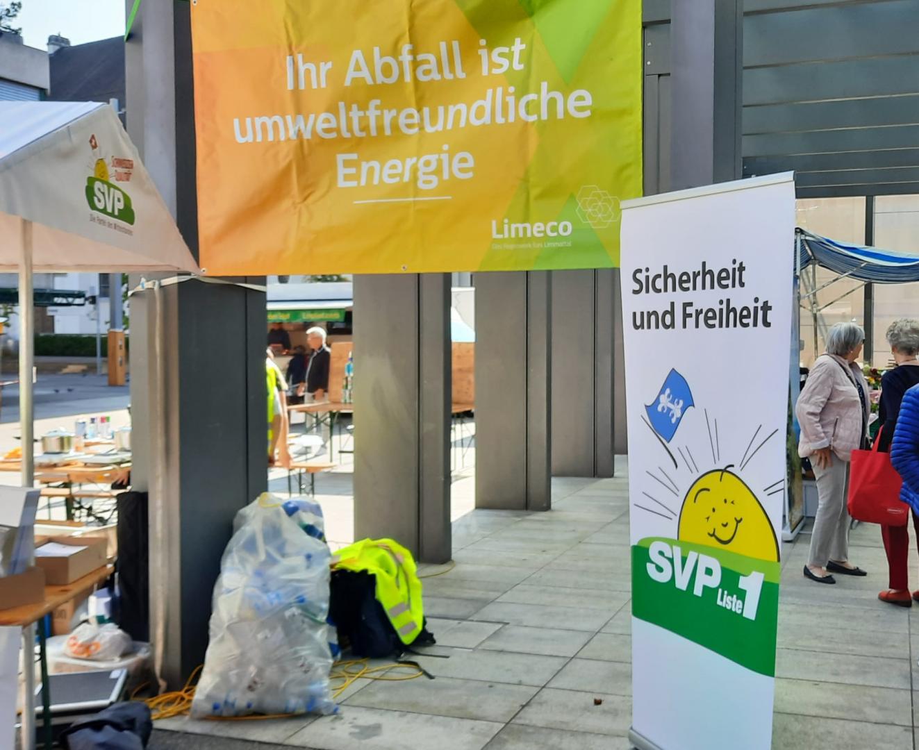 Clean-Up-Day by SVP - Wissensvermittlung