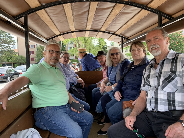 Ausfahrt der 70-jährigen von Dietikon mit Ross und Wagen