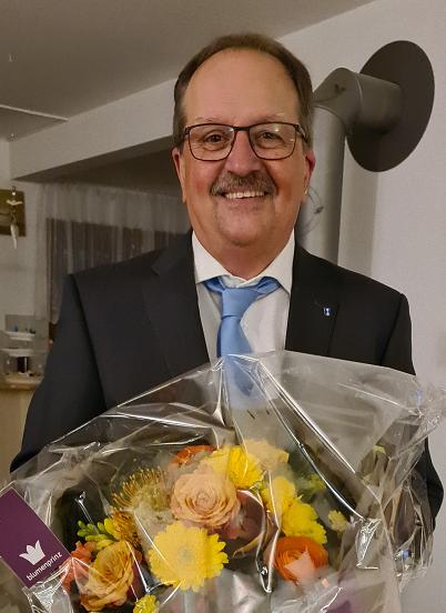 Gewählt: Toni Felber zum 1. Vize-Gemeindesratspräsident