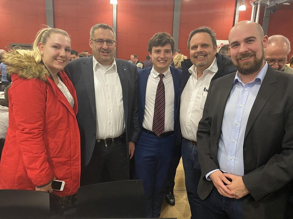 Standing Ovation für Benjamin Fischer als Präsident der SVP Kanton Zürich
